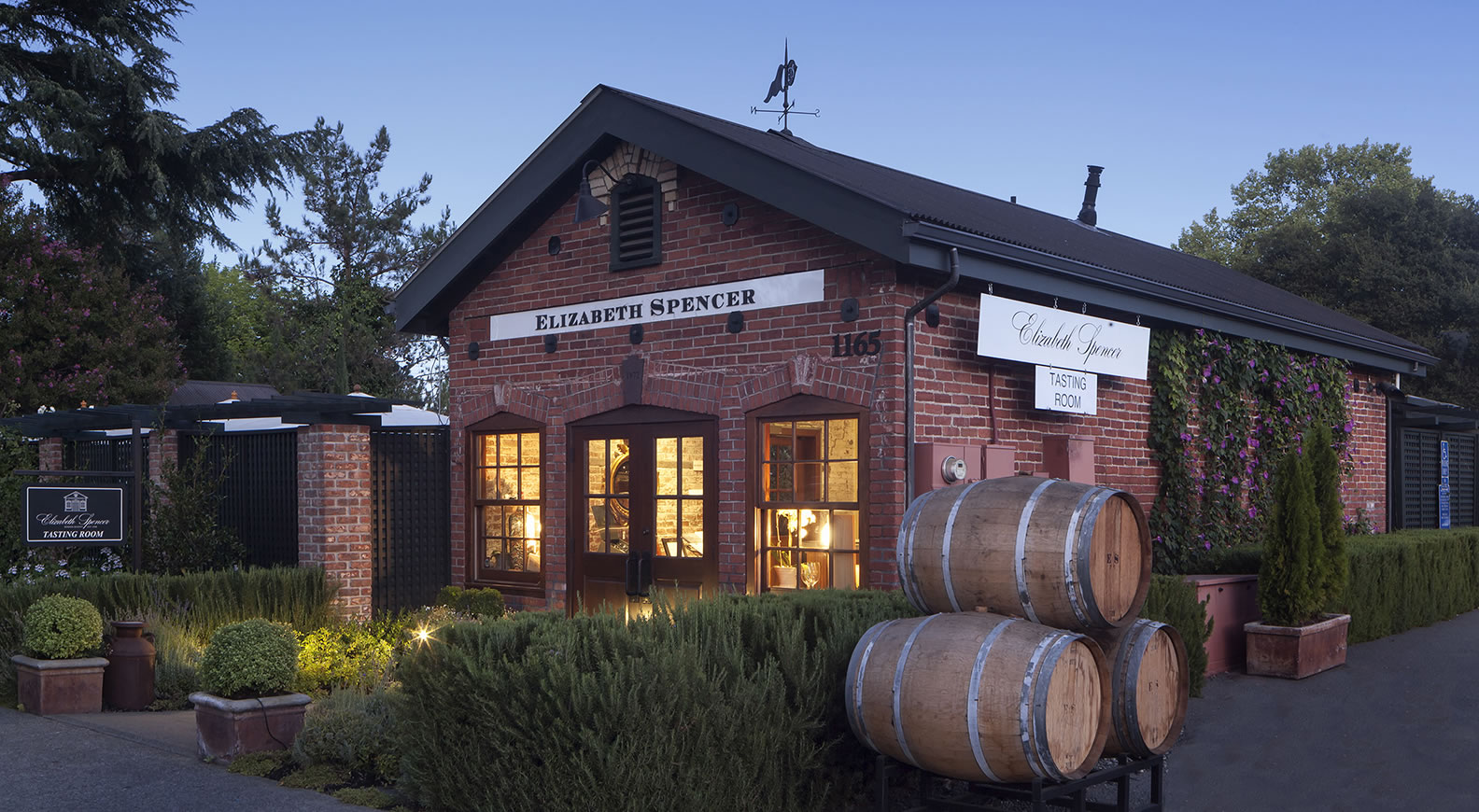 Elizabeth Spencer Tasting Room