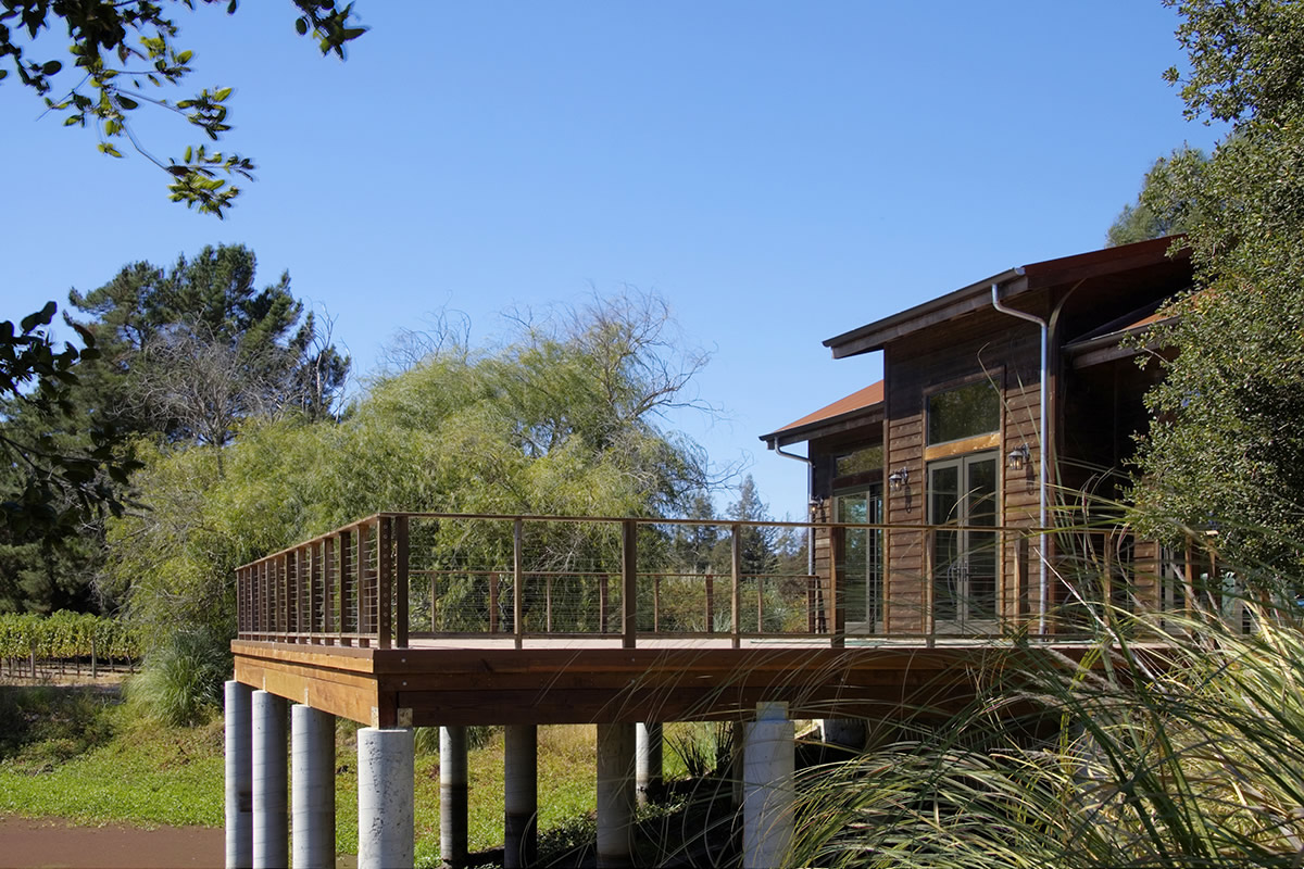 Napa Barn Amp Guesthouse Paul Kelley Architecture
