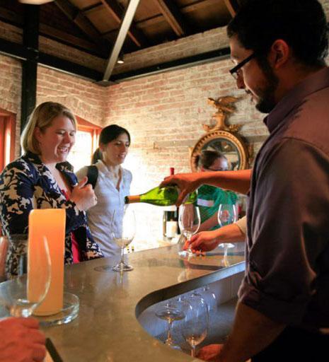 Elizabeth Spencer Tasting Room